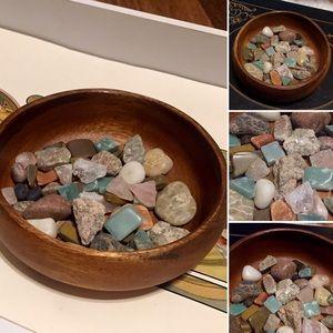 🦋2/$10 3/$15 4/$18 5/$20 Vintage Mix Stones/Rocks